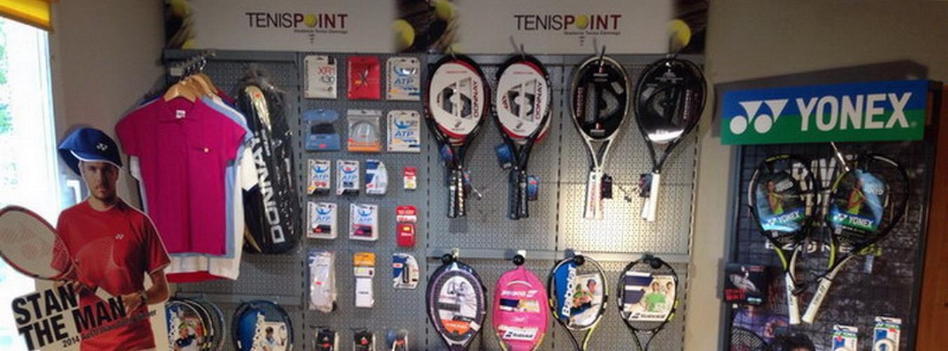 Zajrzyj do sklepu tenisowego na naszych kortach